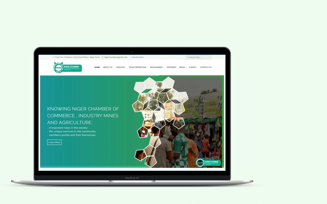 Niger chamber of Commerce Web – Design