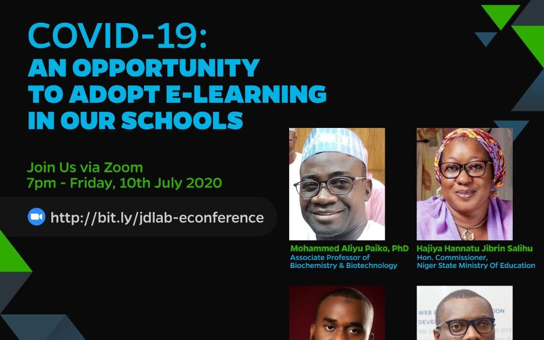 COVID-19 : AN OPPORTUNITY TO ADOPT E-LEARNING IN OUR SCHOOLS